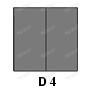 panneau pvc souple opaque pour porte battante à vantaux
